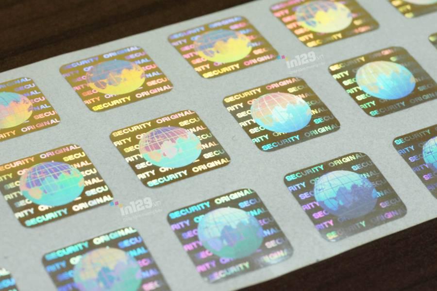 các loại tem chống hàng giả