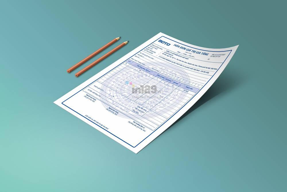 Báo giá in hóa đơn GTGT tại Hà Nội