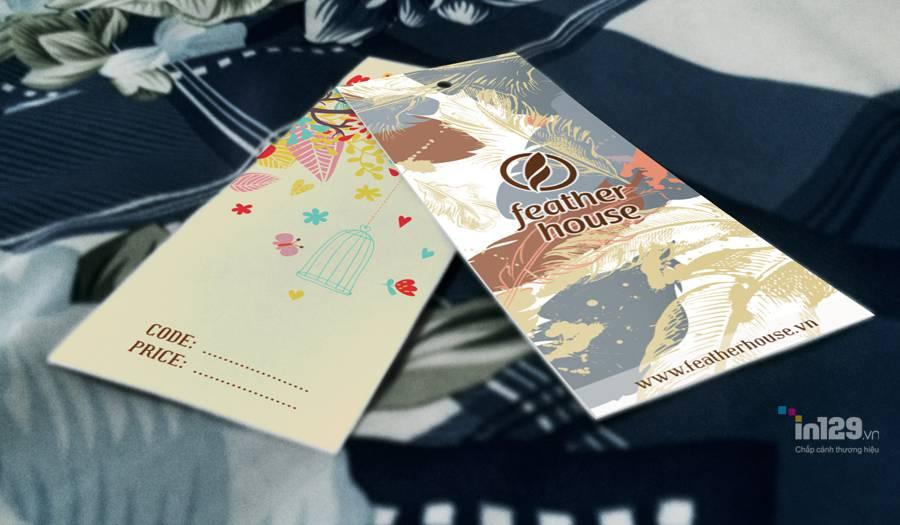 In ấn nhãn mác quần áo