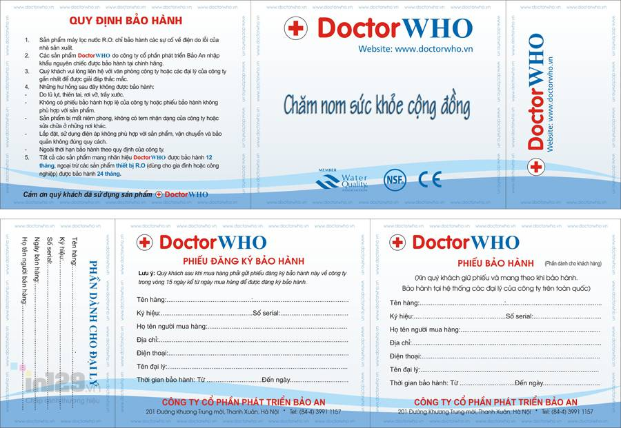 in phiếu bảo hành tại Hà Nội
