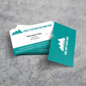 In card visit Công ty Phú Thịnh Phát