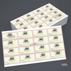 In tem bảo hành linh kiện điện tử cho Công ty ADC Hitech