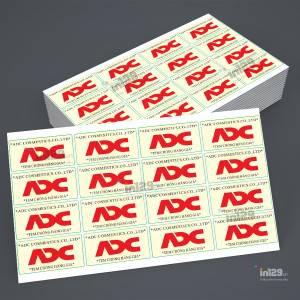In tem bảo hành cho Công ty ADC