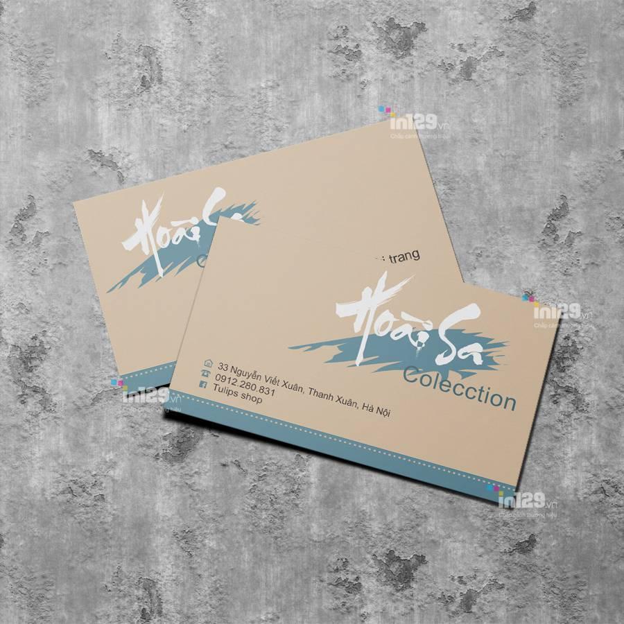 mẫu card visit công ty may