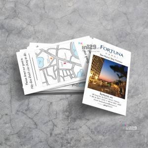 In card visit khách sạn Fotunar Hà Nội