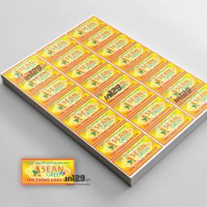 In tem bảo hành Công ty TNHH XNK Ecocolor Đông Nam Á