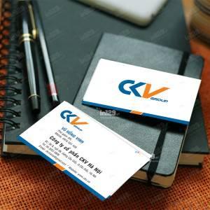 In card visit Công ty cổ phần CKV Hà Nội
