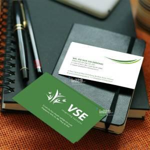 Mẫu card Công ty tư vấn du học VSE