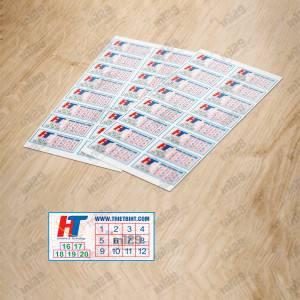 In tem cho Công ty thiết bị HT Việt Nam