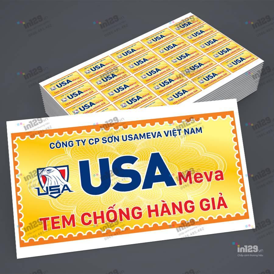 cách dán tem bảo hành