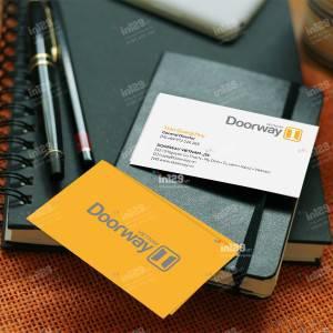 Làm card visit Công ty cổ phần Doorway