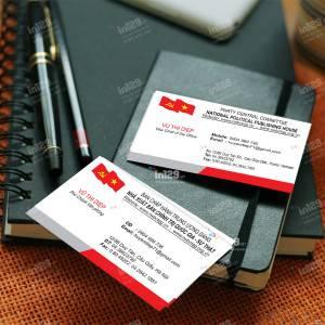 In ấn card Nhà xuất bản Chính trị quốc gia – Sự thật