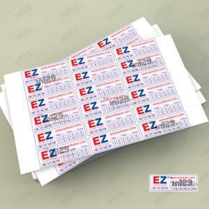 In ấn tem bảo hành EZHaNoi