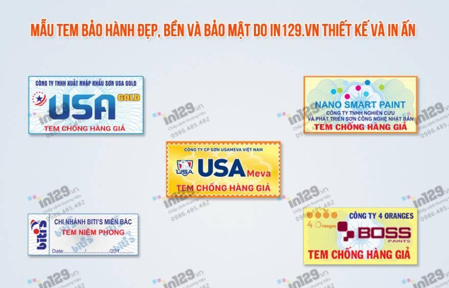 Những tem bảo hành đắt giá nhất tạo nên thương hiệu cho sản phẩm