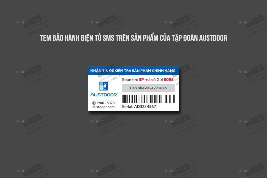 tem bảo hành điện tử là gì