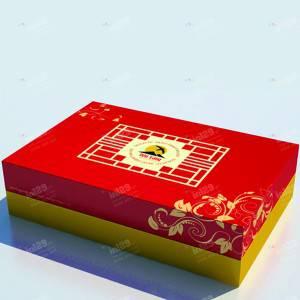 Thiết kế và in ấn hộp giấy Yến Sào Yến Vàng