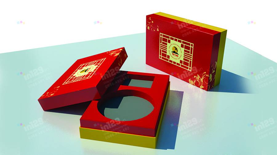 mẫu hộp giấy yến sào Yến Vàng
