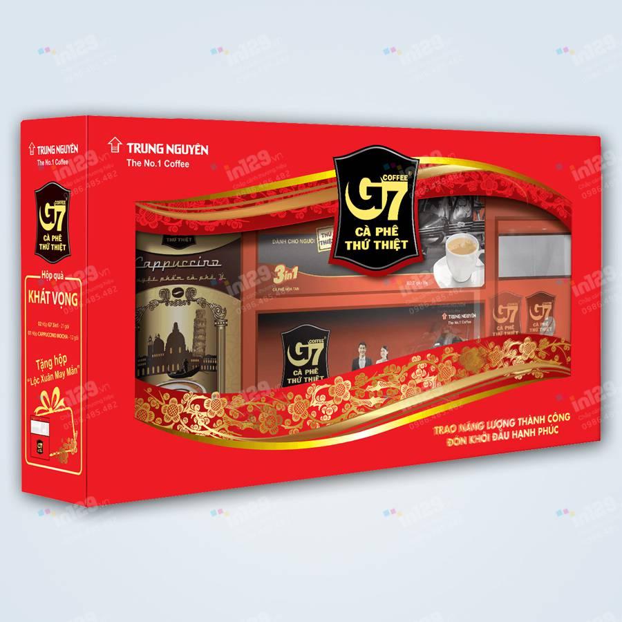 mẫu hộp quà tết
