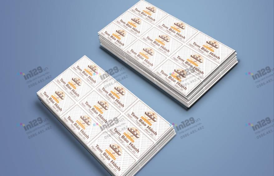 mua tem bảo hành