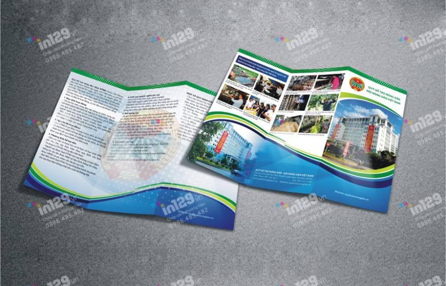 mẫu tờ rơi Quỹ Hỗ trợ nông dân Việt Nam