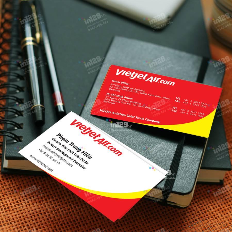 Những lưu ý khi thiết kế và in ấn name card