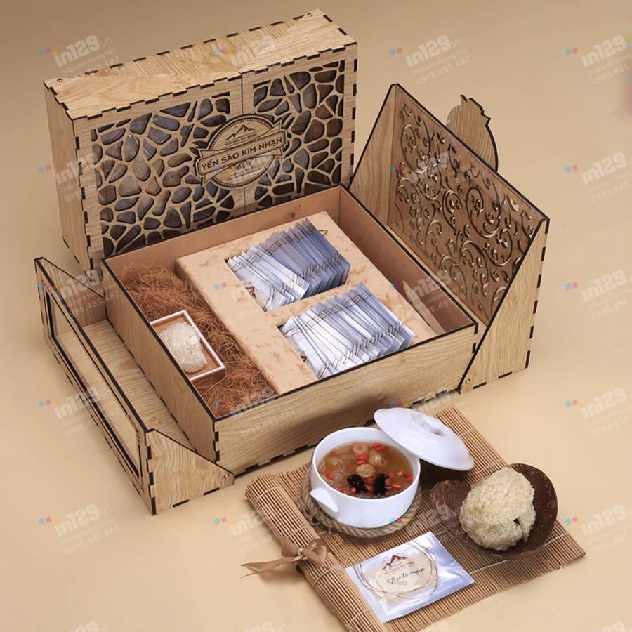 mẫu hộp quà tết cao cấp