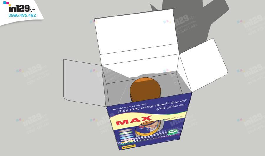 mẫu hộp giấy dược phẩm