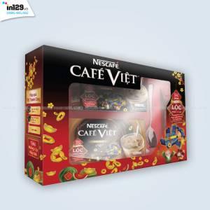 In hộp quà Tết 2017 cho Nescafe