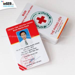 Mẫu thẻ nhân viên báo Nhân đạo và Đời sống
