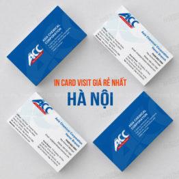 in card visit giá rẻ nhất tại Hà Nội