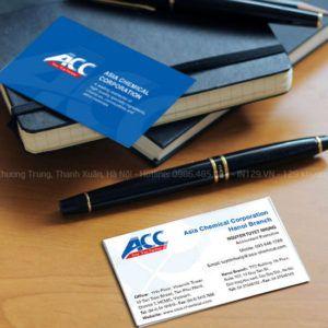 In card visit đẹp cho Công ty Á Châu