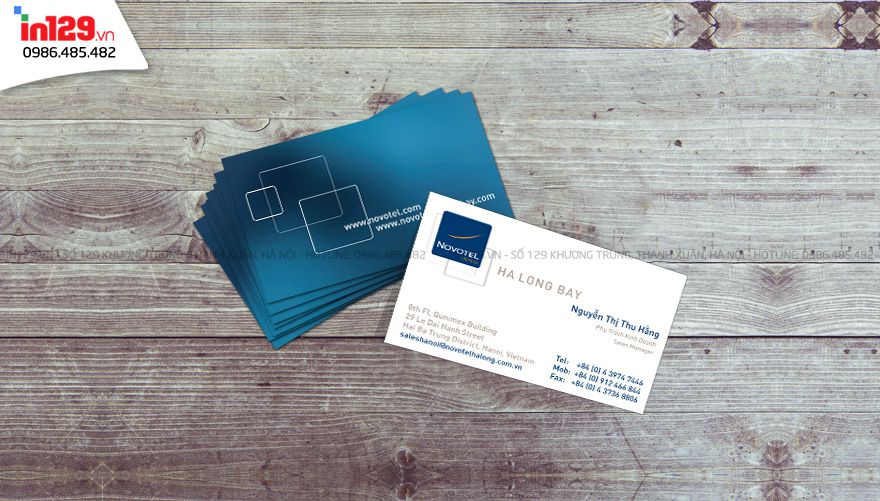 In card visit tại Bà Rịa Vũng Tàu