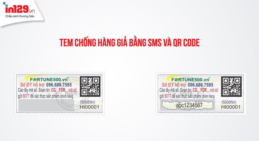 Công nghệ in tem chống hàng giả