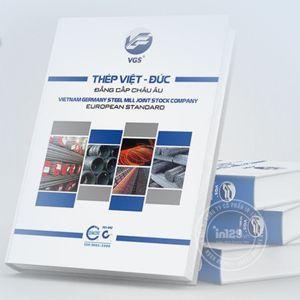 mẫu catalogue ngành thép