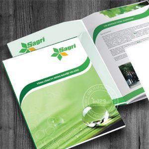 Mẫu catalogue giới thiệu nông sản Sagri