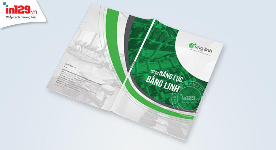Mẫu profile công ty thể thao Bằng Linh
