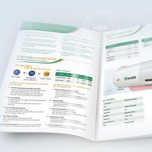 Mẫu catalogue giới thiệu máy lọc nước AO Smith