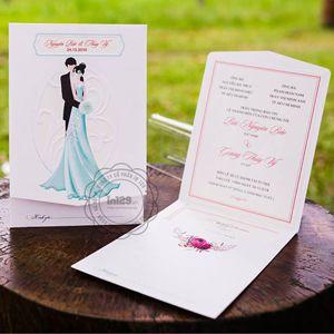 Mẫu thiệp cưới đơn giản