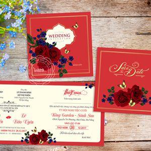 Mẫu thiệp mời đám cưới đẹp