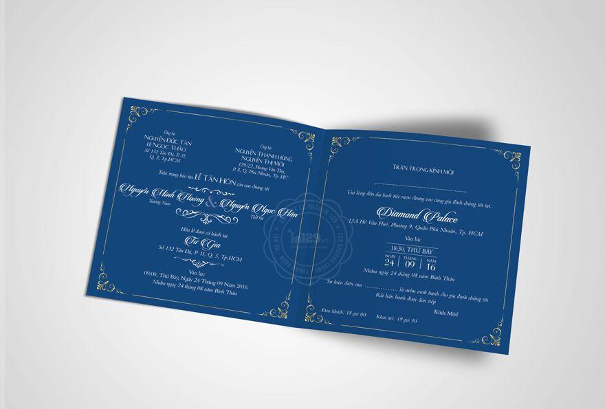 mẫu thiệp cưới màu xanh dươngmẫu thiệp cưới màu xanh dương