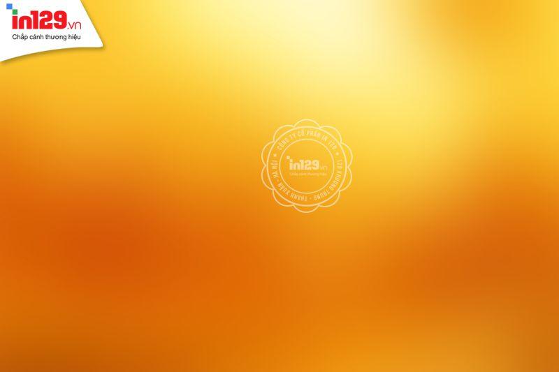 Ảnh background màu cam sử dụng tone sáng