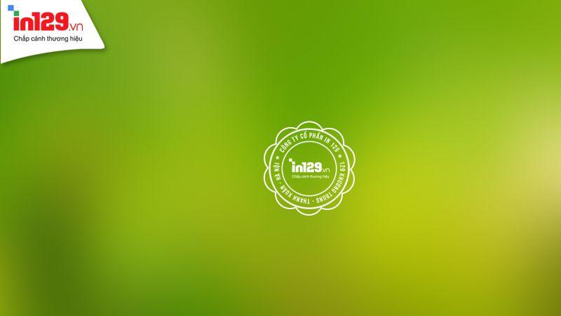 Background màu xanh đơn giản tinh tế
