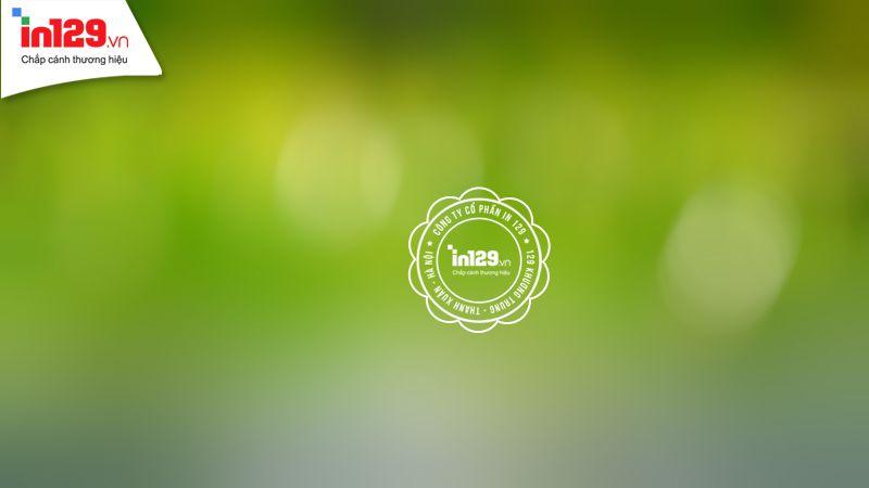 Background màu xanh dạng blur