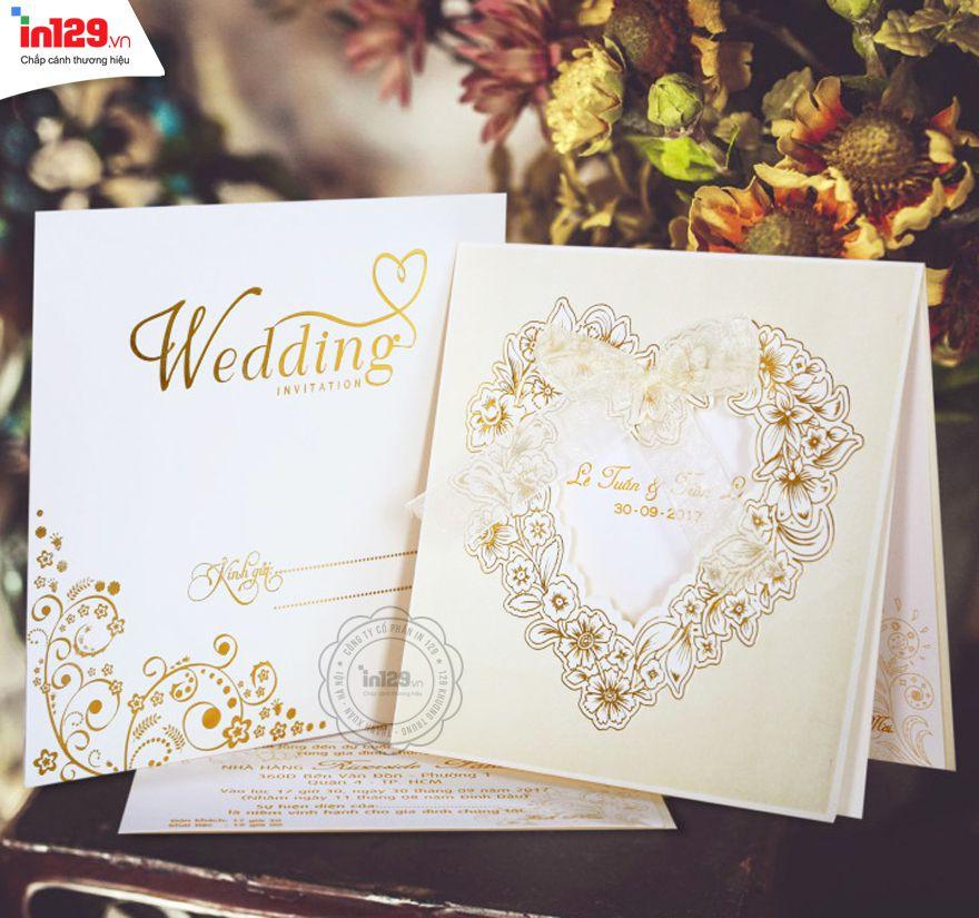 Mẫu thiệp cưới đẹp nhất