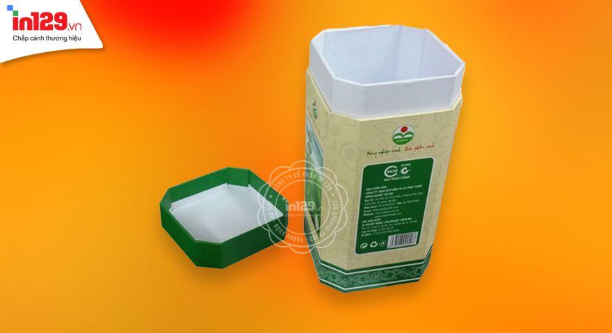 Làm hộp cứng đựng trà Hadico