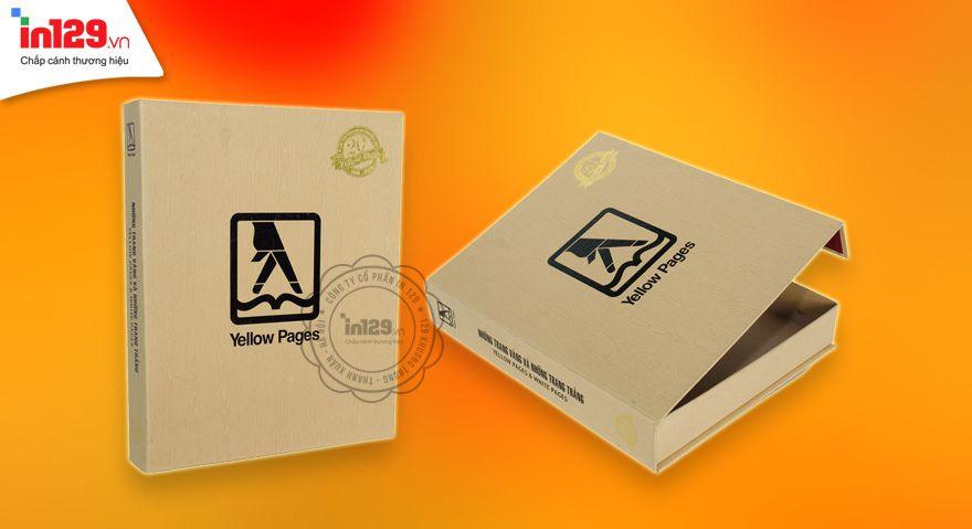 Thiết kế và in hộp cứng nam châm Trang Vàng Việt Nam