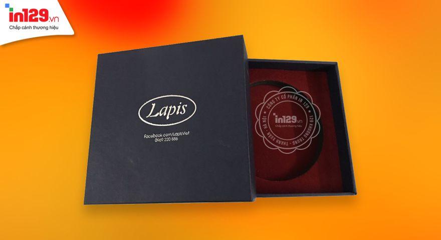 Làm hộp đựng nữ trang Lapis