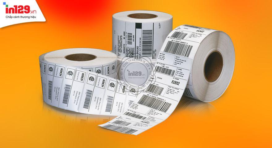 In sticker barcode (mã vạch)