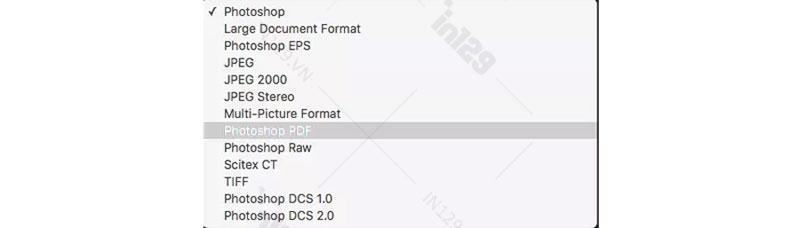 Lưu file thiết kế sang dạng PDF